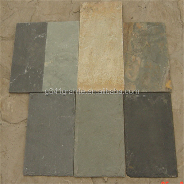 Hot selling stone tiles front wall/slate rusty face brick