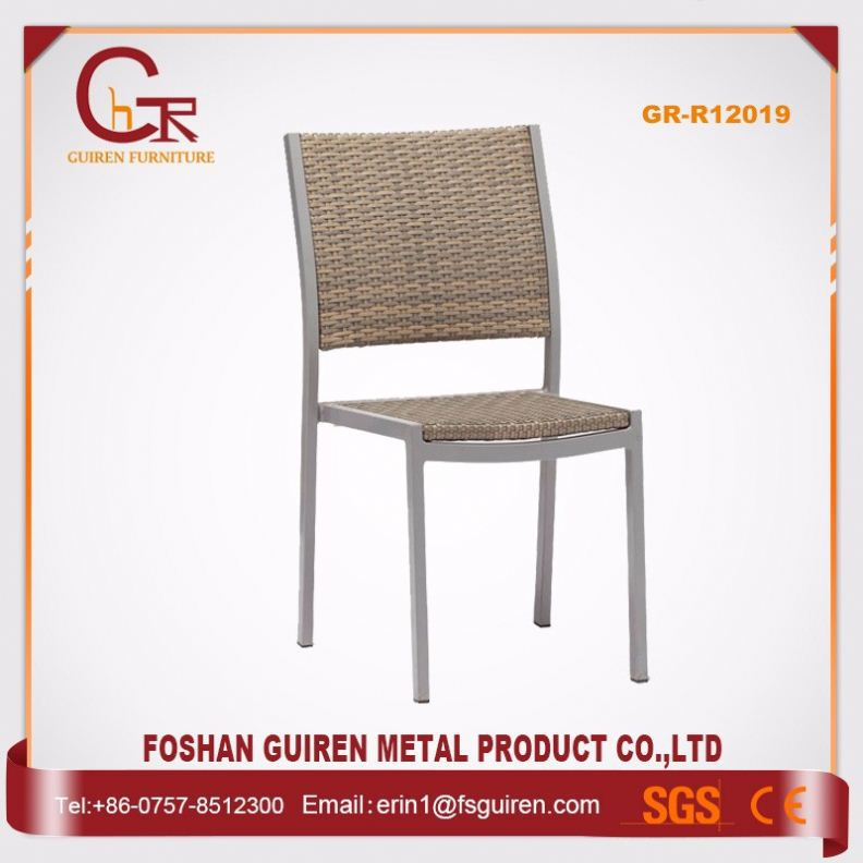 Online Shop China Luxury alu teak garden chairs