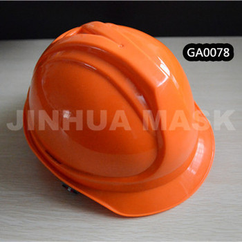 plastic head protection lightweight safety helmet