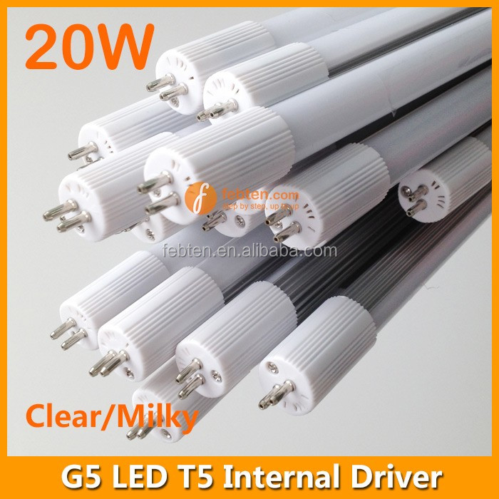 SMD 2835 T5 Led light tube 20w with internal power supply