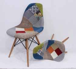 patio cloth chair furniture with wood legs / kids chair T811-3L