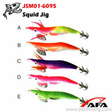 Wonderful swim action japanese squid jig for fishing