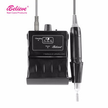 fashionable 35000RPM nagel nail drill for salon electric nail drill dust collector battery manicure
