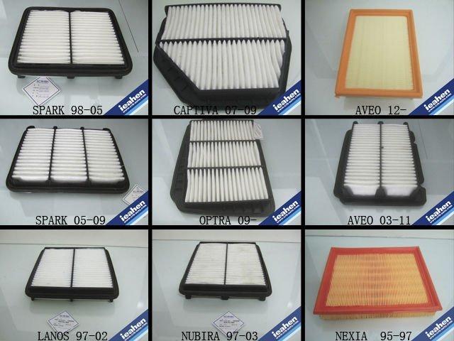 chevrolet daewoo matiz spark air filter 96314494