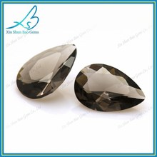 Good polished pear cut grey nano gem stone price