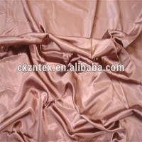 poly satin fabric for made into garment
