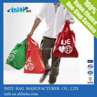 Promotional foldable shopping bags,folding travel tote bags