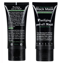 factory price Deep Cleansing Black Mask Purifying Peel off Facial Mask 50ML Blackhead Acne Remover Natural Face Mask