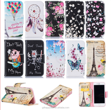 custom design flip stand leather wallet phone case for iphone 6 6s 6 plus 6s plus 7 7 plus