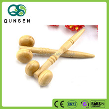 China cheap wooden double head massager