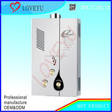 6-12L balance LPG tankless gas water heater gas geyser factory OEM brand forced type