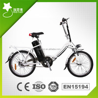EN15194 CE Chinese 20inch Cheap light weight 36V250W folding electric bicycle with middle lithium battery LED display for child