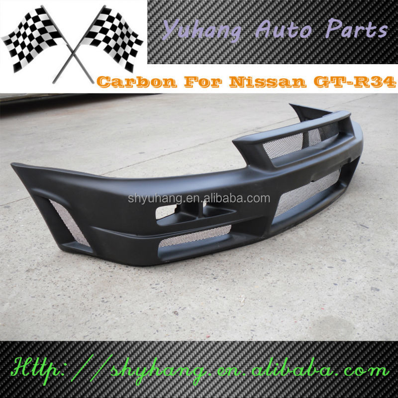 FOR Skyline R34 GTR FRP Nismo Body Kit FRONT BUMPER