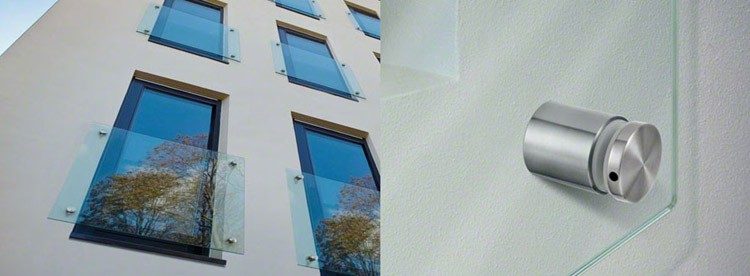 Juliet Balcony Stainless Steel Railings Price Glass