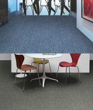 Exhibition Hall And Trade Show Removable Nylon Carpet Tiles