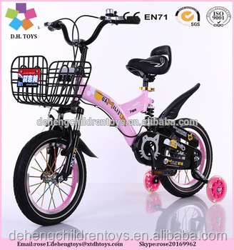 Factory hot sales simple model children bike