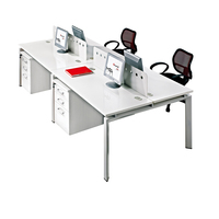 Customized Guangzhou manufacturer modern office furniture for 4 person