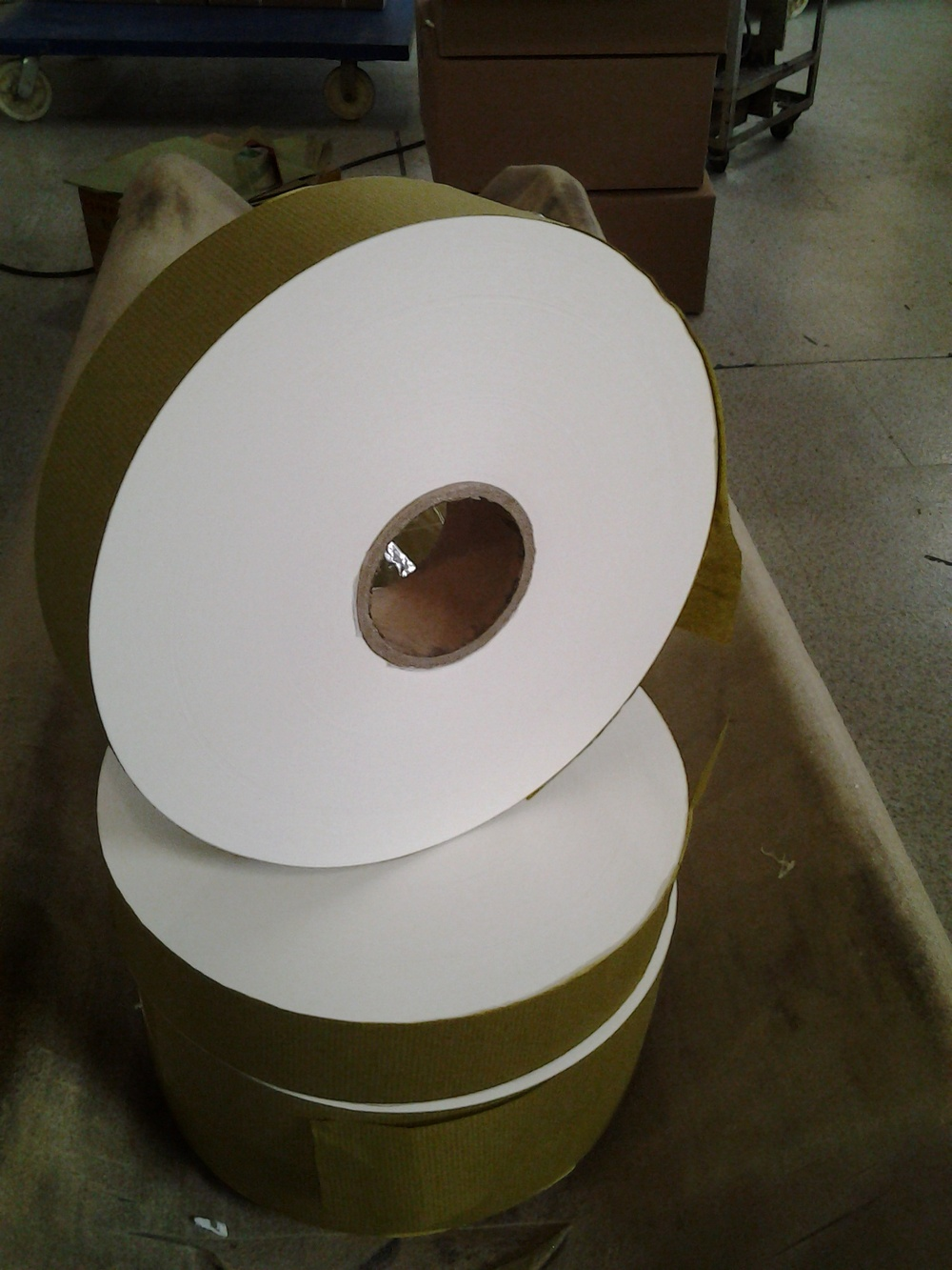 Width 94mm, 103mm nonheatseal teabag filter paper for IMA C23 tea packing machine