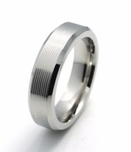 Latest Sample Brushed Surface Ring Designs Men's Ring Cobalt Chrome Ring