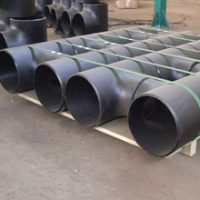 Factory Supply alloy steel seamless reducing pipe fitting tee