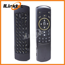 Modern TV box use 2.4Ghz 3D air mouse remote keyboard for Smart android