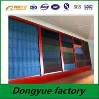 stone coated roofing sheet factory copper shingle villa roof sheet