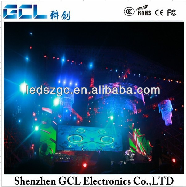 sposter board stands display stand/tage backdrop screen/dj stage led screen