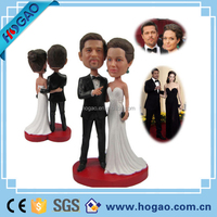 Customized Military Couple Wedding Bobblehead Doll Soldier Wedding Cake Topper