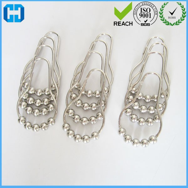 Metal Shower Curtains Hanger Hooks With Best Quality