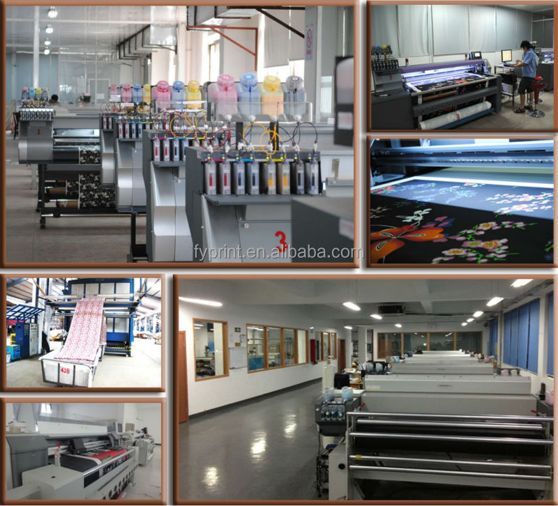 Factory Direct Digital Printing 100% Silk Chiffon Fabric