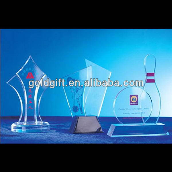 Super quality customized dome acrylic trophy