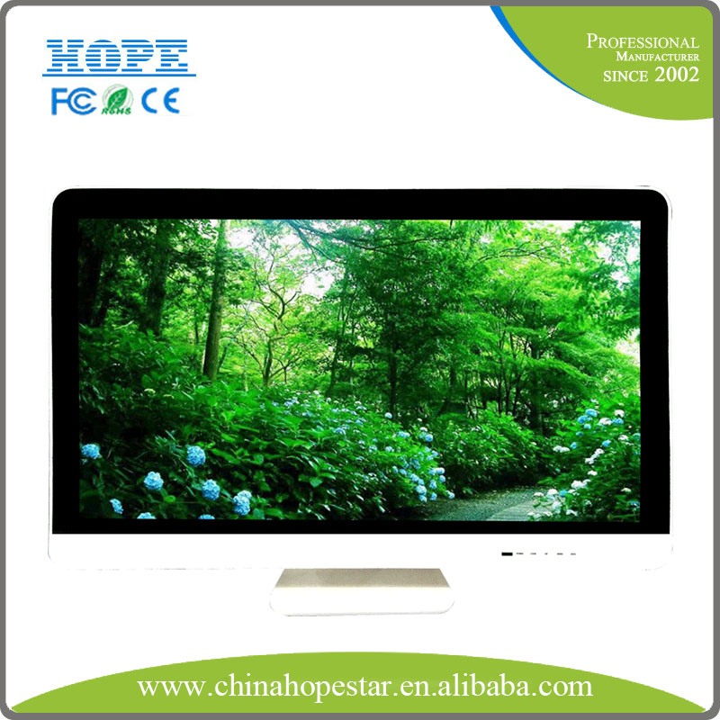 Internet 21.5 inch stand led monitor for advertising