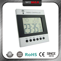 The Most Popular Hot Sell Promotional Custom-Made Battery Power Large Calendar Electric Digital Clock