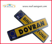 Zinc alloy CAR LICENSE plate frame for Europe