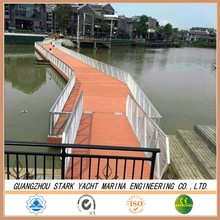 hot selling and durable Marina floating pontoon with competitive price