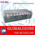 Ozone wall mount machine for air purify with ceramic ozone plates or tubes
