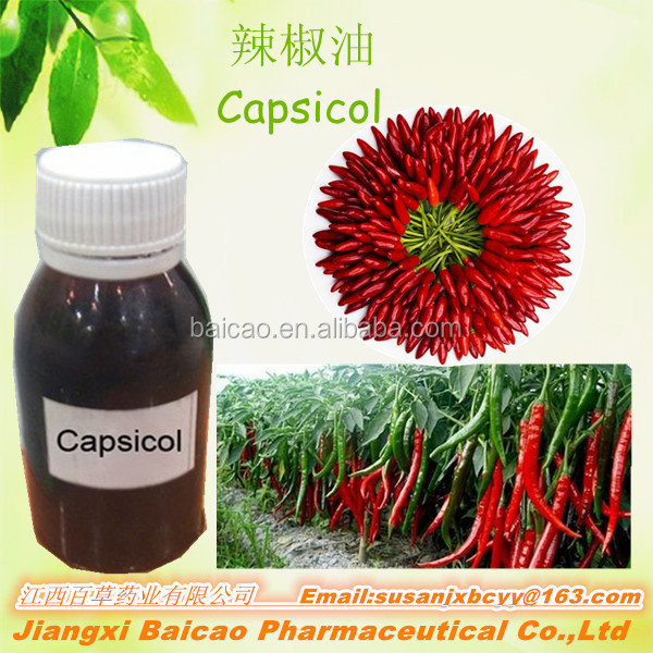 Hotsell factory wholesale red chilli oleoresin, Liquid, oil soluble