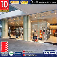high quality used commercial aluminum glass sliding doors