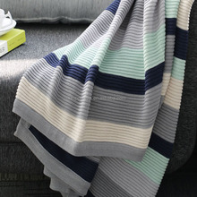 2016 High Quality Knitting Crochet Baby Blanket With Low Price