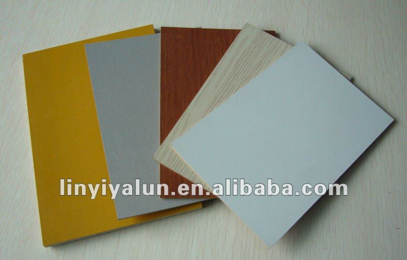 white polyester plywood for funiture and decoration