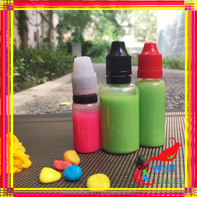 quantity PET dropper bottle child lid cap plastic bottle 10ml child proof tamper cap e liquid dekang