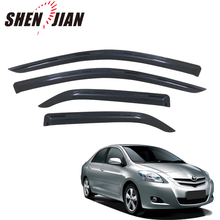 Auto door visor rear window Other Exterior Accessories Supplier for 2013 VIOS accessories