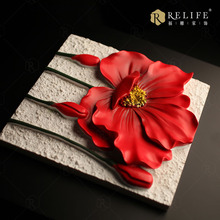 Alkyd Resin Painting New Design Morden 3d Wall Art Nude Women Flowers