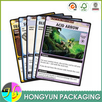 factory made cheap hard cardboard wholesale yugioh cards
