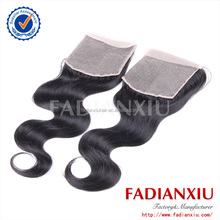 5A grade high quality 4*4 8-24 inch virgin malaysian natural wave closures