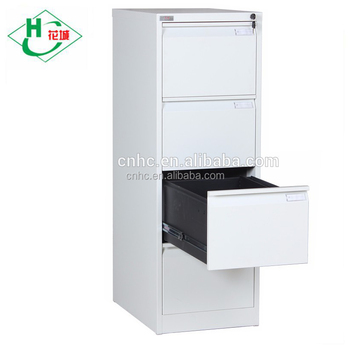 Steel Office Cupboard 4 Drawer Metal File Cabinets