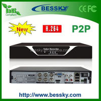 2014 Cheapest New Product H.264 4ch D1 DVR with P2P Cloud,support 3G/WIFI/mobilephone view,car dvr recorder