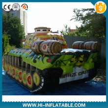 Inflatable military decoy & Inflatable military tank