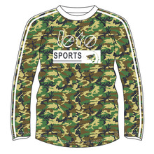 Custom Tournament Fishing Jersey UV Protection Long Sleeve Fishing Shirts Design Sublimated Apparel Camo Fishing Shirts <strong>Wear</strong>