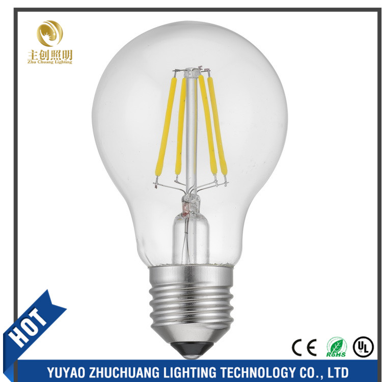 2017 Newest Design LED Filament Bulb , led A60 4W LED e27 bulb